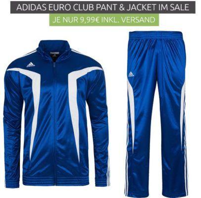 adidas Euro Club Trainigs Jacke oder Hose für je nur 1,99€ mit Versand