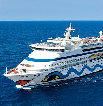Diverse Kreuzfahrten mit der AIDA ab 879€ p.P.