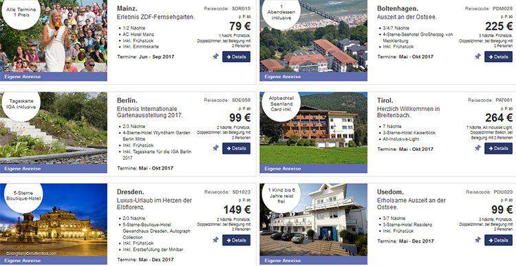 Berge & Meer: Aktuelle Geschenkideen zum Muttertag z.B. 3 ÜN auf Usedom ab 99€ p.P.