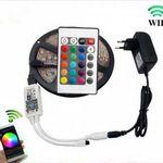 5m USB RGB LED-Streifen (Typ 5050) mit Fernbedienung & Netzteil für 12,30€