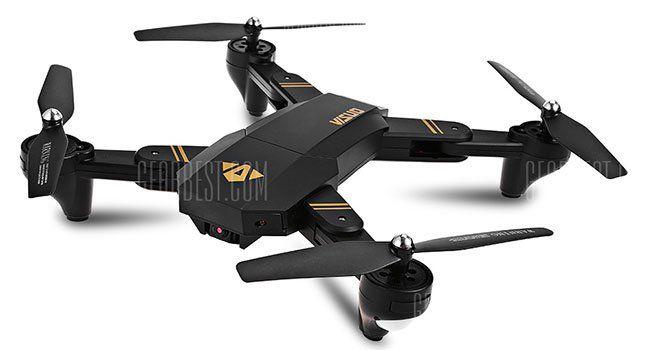 Faltbarer Quadcopter Titanqu XS809W mit One Key Return für 38,24€