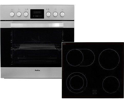Amica EHC12553E Einbauherd Set mit Ceran Kochfeld für 333€ (statt 399€)