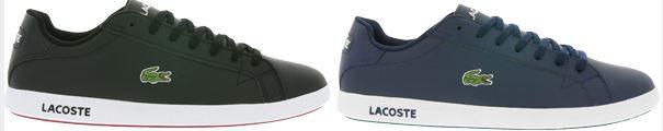 Lacoste Herren Leder Sneaker statt 71€ für 49,99€