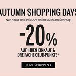 20% Rabatt auf reguläre Ware bei Orsay