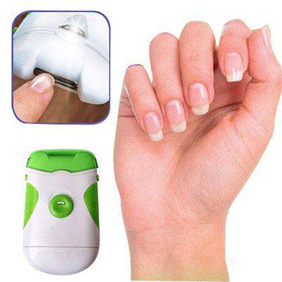 Elektrischer Nagelschneider & Nagelfeile in einem für 4,36€