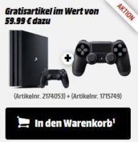 Playstation 4 Pro 1TB  + 2ter Controller statt 428€ ab 395€