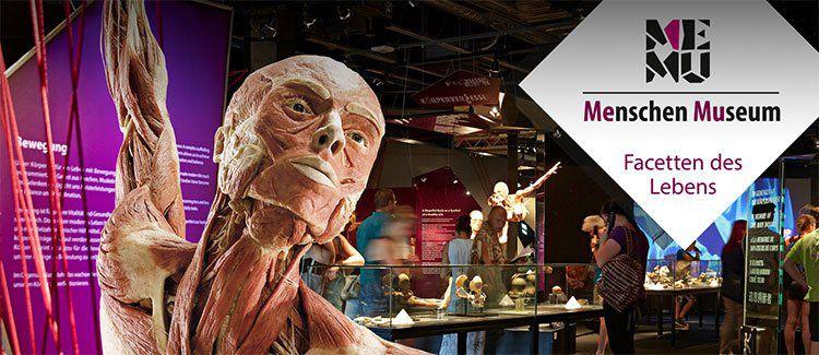 2 ÜN in Berlin inkl. Frühstück & Eintritt in das Menschen Museum ab 99€ p.P.