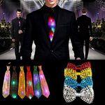 Krawatte oder Fliege mit LED's ab 1,15€