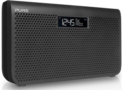 Pure One Maxi   Digitales Radio mit DAB, DAB+ & Kopfhörerausgang für 99€ (statt 145€)