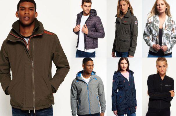 Superdry Herren und Damen Jacken für 44,95€