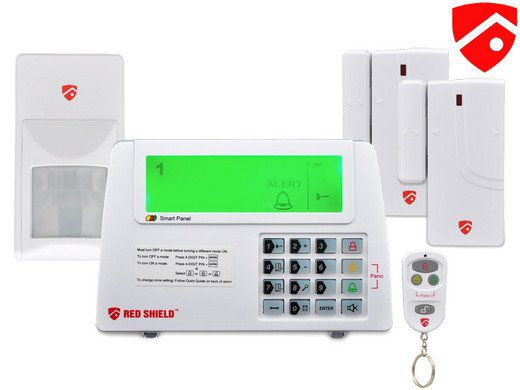 Red Shield WS 100 Alarmsystem für 35,90€ (statt 120€)