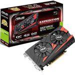 ASUS Expedition GeForce GTX 1050 Ti OC mit 4GB für 149€ (statt 166€)