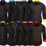 RUSTY NEAL Herrenhemd Black Edition (SlimFit) für 16,95€