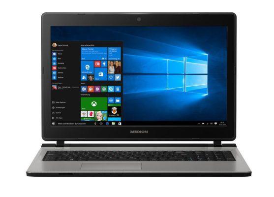 Medion Akoya E6429 (MD 60106)   15,6 Notebook mit 256GB SSD & Win 10 für 499,99€ (statt 599€)