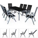 Deuba Sitzgruppe 8+1 aus Aluminium für 259,99€ (statt 330€)