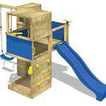 Wickey Smart Cube – Spielturm mit Rutsche und Schaukel für 499,95€ (statt 700€)