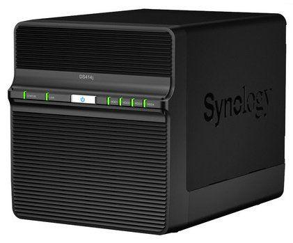 Synology DS414j NAS Leergehäuse für 225,90€ (statt 281€)