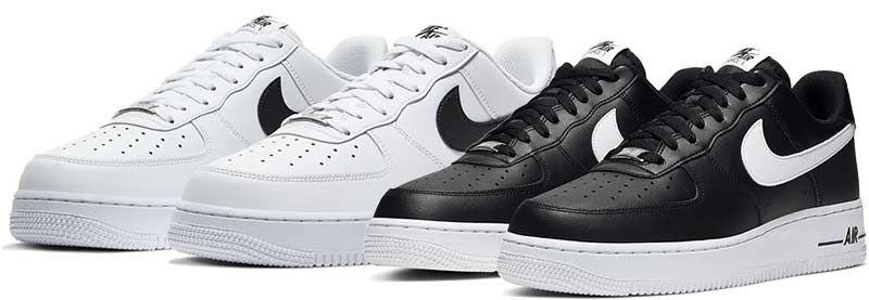 Abgelaufen! Nike Air Force 1 '07 Herren Sneaker in 3 Styles