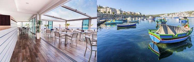 4 o. 7 ÜN im 4* Hotel auf Malta inkl. Flüge, Frühstück oder Halbpension Plus und Transfer ab 209€ p.P.