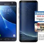 Samsung Galaxy S8 + Galaxy J5 (2016) für 1€ + Telekom Magenta Mobil M mit 3GB LTE für 53,74€ mtl. – Friends-Vorteil möglich
