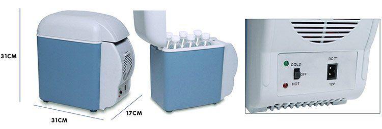 12V/37Watt Auto Kühlbox mit 7,5L für 18,78€ (statt ~40€)