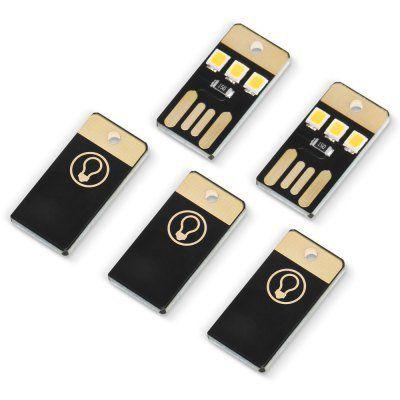 Wieder da! 5 USB Licht mit 3 kleinen LEDs für 1,41€