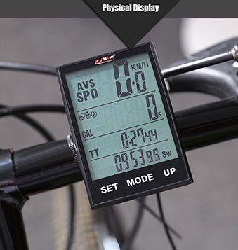 BoGeer YT   318 Wireless Touchscreen Fahrradcomputer für 8,89€