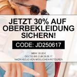 30% Rabatt auf Oberbekleidung bei Jeans-Direct – auch reduzierte Artikel bis Mitternacht!