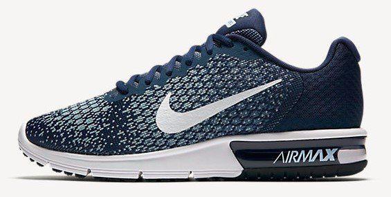 Nike Air Max Sequent 2 Sneaker für 57,73€ (statt 90€)