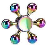 Farbenfroher Fidget Spinner mit 6 Armen für 3,78€