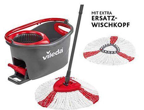 Vileda Turbo EasyWring & Clean Komplettset + Ersatzkopf für 32€ (44€)
