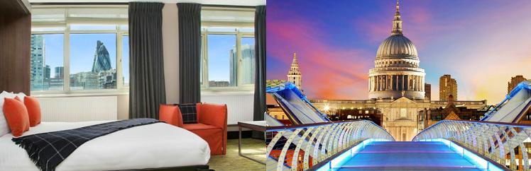 2   3 ÜN im 4* Hotel in London inkl. Frühstück & Flüge ab 239€ p. P.