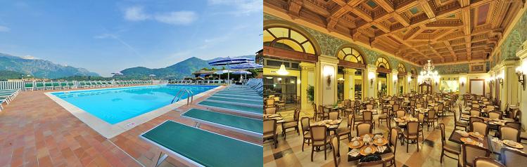 3, 4 o. 7 ÜN im 3,5* Hotel am Comer See inkl. All Inclusive Verpflegung ab 129€ p.P.
