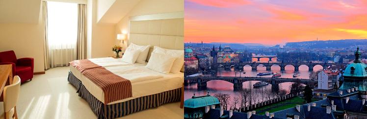 2   4 ÜN im 4* Hotel in Prag inkl. Frühstück ab 49€ p.P.