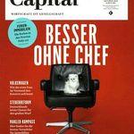 """4 Ausgaben der """"Capital"""" für 24€ inkl. 24€ Verrechnungsscheck"""