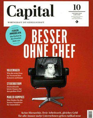 4 Ausgaben der Capital für 24€ inkl. 24€ Verrechnungsscheck