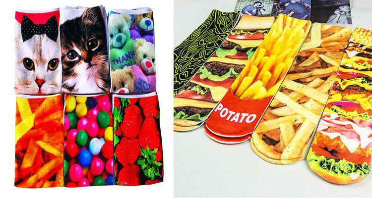 3D Druck Socken in verschiedenen Designs für je 2,49€