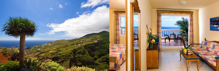 7, 10 o. 14 ÜN im 4* Hotel auf La Palma inkl. Frühstück o. Halbpension, Fitness, Flüge ab 439€ p.P.