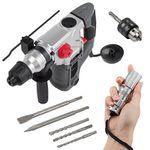 Powerplus POWE10080 – SDS Bohrhammer mit 1500 Watt + LED für 84,90€ (statt 99€)