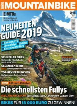 12 Ausgaben MountainBike für 56,90€ inkl. 50€ Amazon Gutschein