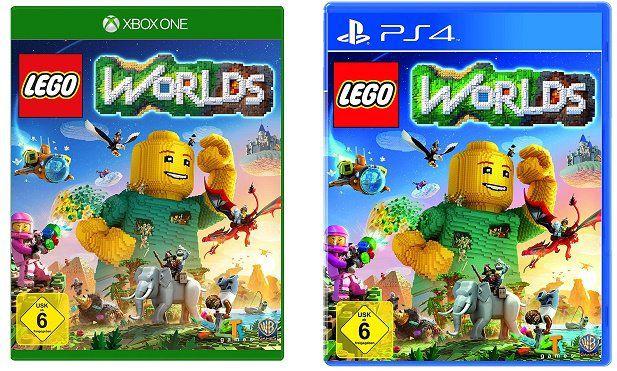 Lego Worlds (PS4, Xbox One) ab 19,99€