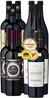 12 Flaschen Bella Italia Weine aus Süditalien für 59,70€