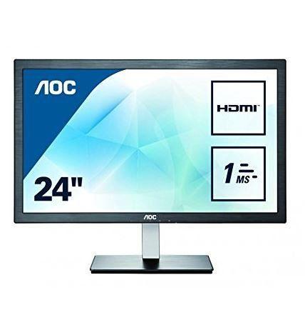 AOC Value E2476VWM6   24 Zoll FullHD Monitor HDMI 1ms für 99€ (statt 129€)