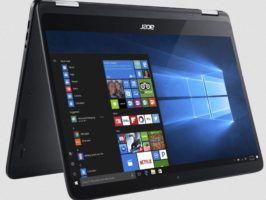 Acer Spin 7   14 Zoll Convertible mit i7, 256GB Speicher, 8GB RAm, Win 10 + Office  statt 1.180€ für 945€