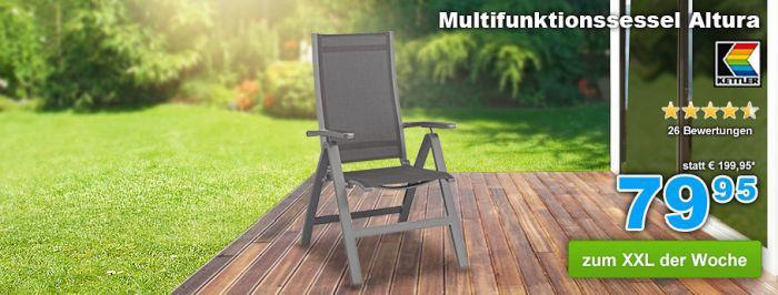 Kettler Multifunktionssessel Altura für nur 71,96€ (statt 118€)