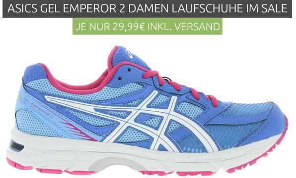 asics Gel Emperor 2   Damen Laufschuh statt 47€ für nur 29,99€