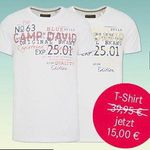 4 Camp David David & Soccx T-Shirts ab je 13€