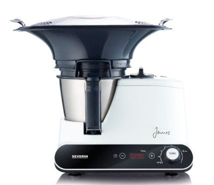 Severin KM 3895 James the Wondermachine All in one Küchenmaschine für 95,99€ (statt 133€)