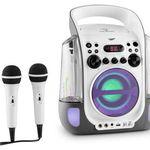 auna Kara Liquida Karaokeanlage mit 2 Mikrofonen für 79,99€ (statt 98€)