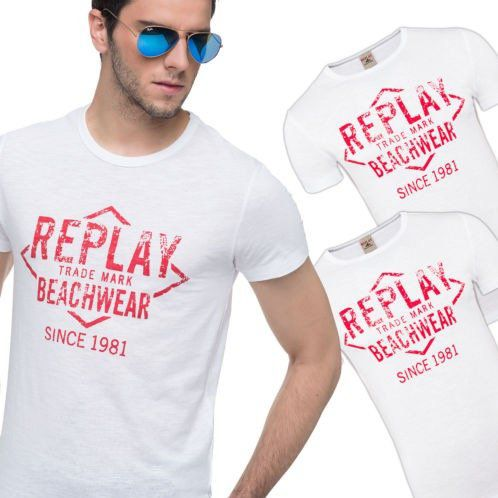 3er Pack Replay Herren T Shirts für nur 16,99€